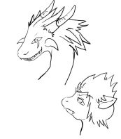 Axel and Roxas Dragon Concepts by Rinkulover4ever50592