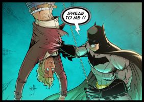 Batman - Swear To Me - colors by Rexbegonia