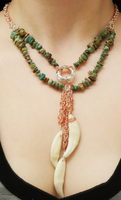 Coyote Necklace 2 by RustedScrapMetal