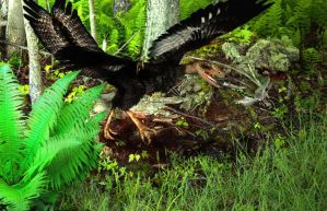 Jurassic meal by terra-icognita-topos