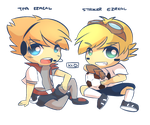 AT: TPA and Striker Ezreal by KittyConQueso