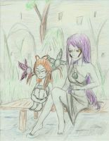 Relaxing with the Fairies by Ladywiththeface