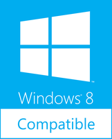 Windows 8 Compatible Logo Final by Brebenel-Silviu
