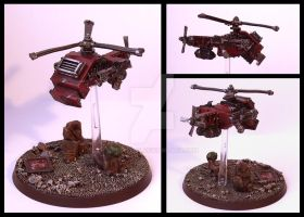 Grot Rebellion Helicooka by Proiteus