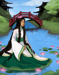 Lady of the  Water Lilies by tm-designs