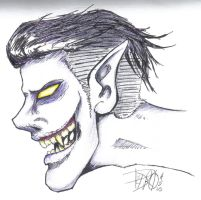 Ghoulish Greaser. by p3t4r0