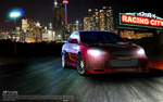 Racing City: Mitsubishi Lancer by 7skywalker