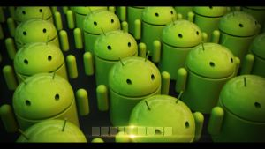 'Droid Does' Android Army Wallpaper by Wybi