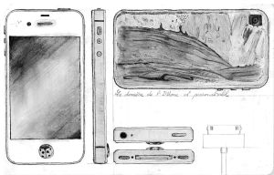 Madeline's iPhone by SabreTranchant