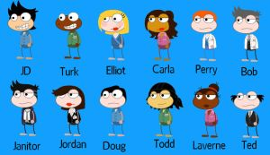 Scrubs in Poptropica by 4everwild
