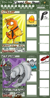 PMD: Chained Flame Hounds App by LaughingZoroark
