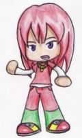 Human Sonic Chibi - Knuckles by EmmytheCat