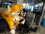 Tails Plays Sonic 2 (3) by refira