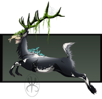 Sphinx Deer adopt auction CLOSED by Tricksters-Adopts