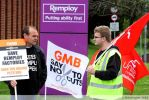 Myself on a Remploy picket line. by MICHAELHARRISON1990