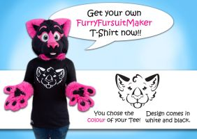 Get your FFM T-Shirt now! by FurryFursuitMaker