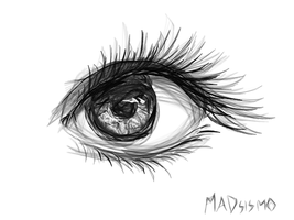 Her eye by MADsismo