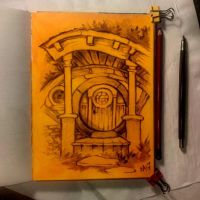 Instaart - Hobbithouse by Candra