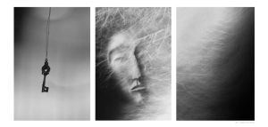 faces on the moon by Suryakami