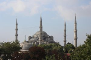 Istanbul 2012 - Sultanahmet from hotel by Demonescuro