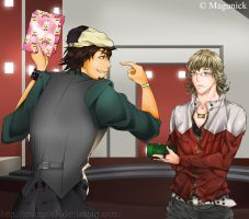 Tiger and Bunny - back by Magunick