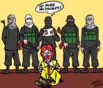 McHostage by Latuff2