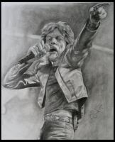 Mick Jagger by brokenpuppet86