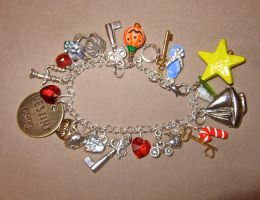 One Sky, One Destiny-Kingdom Hearts Charm Bracelet by Key-Kingdom