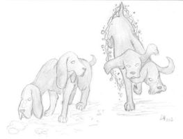 Two-nosed Hounds by Finaira