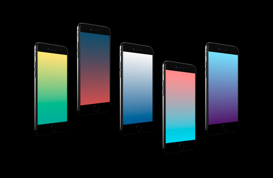 Gradients - iOS Wallpapers by octiviotti