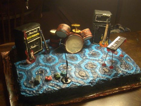 Stage Cake by estranged-illusions