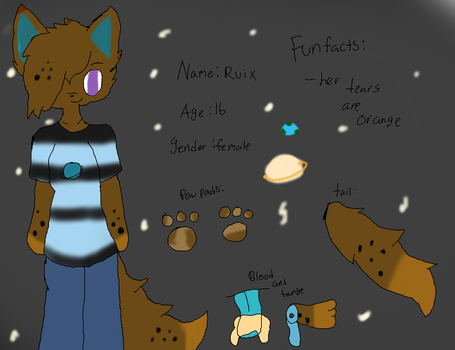 Ref Sheet For Someone by Jaystar-art