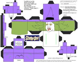 SD10: Ghost Witch of Milissa Wilcox Cubee by TheFlyingDachshund