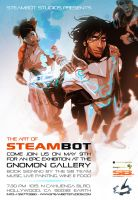 STEAMBOT Art Gallery by feerikart