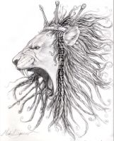 dread lion by supamic777
