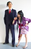 Ace Attorney: Turnabout Duo by AnyaPanda