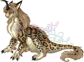 Qilin Dynasty - Clouded Leopard Coloration by QilinDynasty