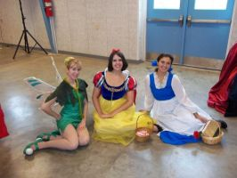 Tink, Snow and Belle. by AriadneEvans