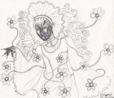 The Flower Lord by prismpower23