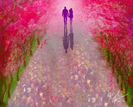 A walk amongst the Cherry Blossoms by rebel07bloodhound