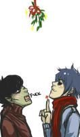 Gorillaz: Mistletoe... fuck. by thunderjelly