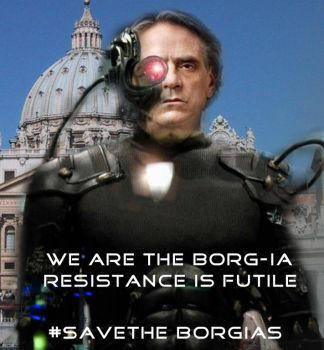 We Are the Borg-ia by meridianrose