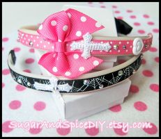 RIBBON CANDY Headband by SugarAndSpiceDIY