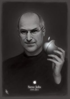 Steve Jobs 1955-2011 by WarrenLouw