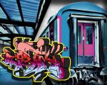 Crazy Train Grim by JONGRIM