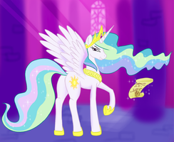 Princess Celestia by livinlovindude