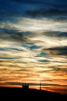 Painting in the sky by JPGphotos