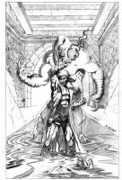 Gambit Cover Pencils by acarabet