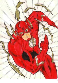 FLASH COMMISION by robertcheli