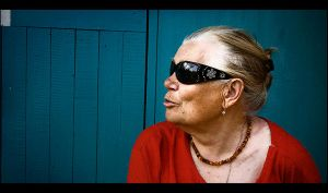 Blues Granny 2 by HeresyPreacher